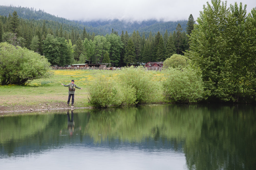 Greenhorn Ranch Creeks and ponds