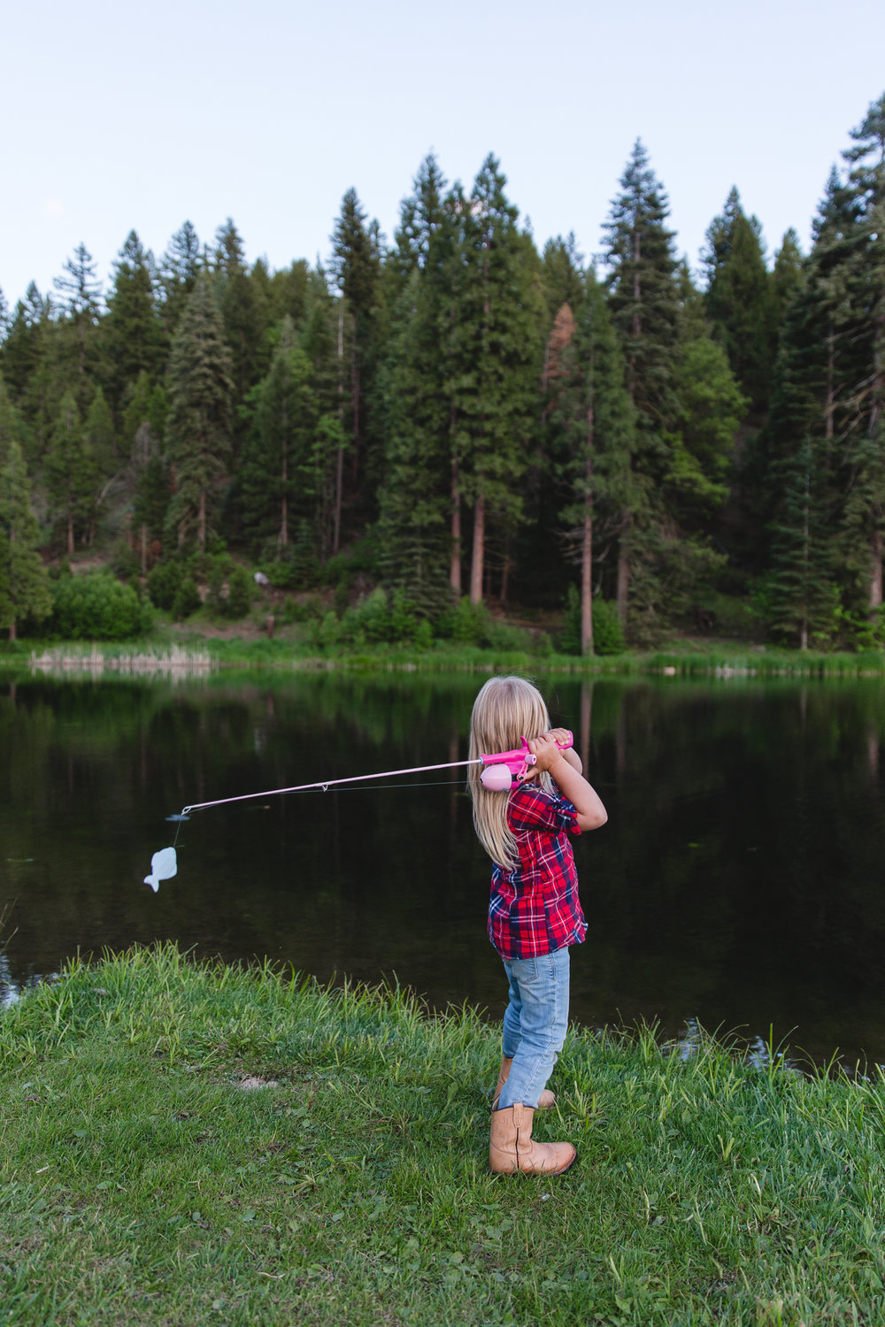 Teach kids to fish at Greenhorn Ranch