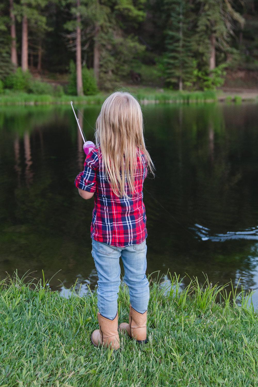 California Family Fishing Vacation at Greenhorn Ranch