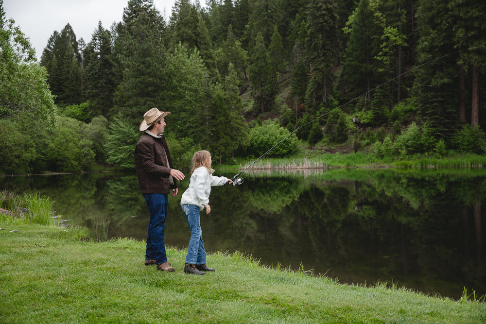 Fishing for everyone at Greenhorn Ranch