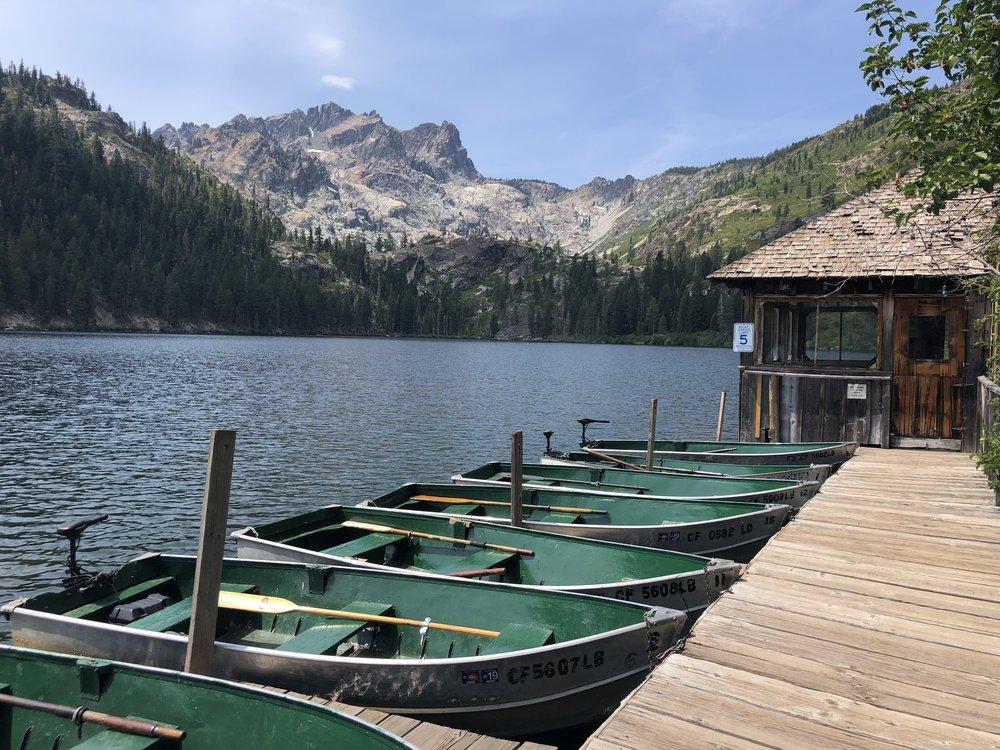 Boat Rentals at Sardine Lake