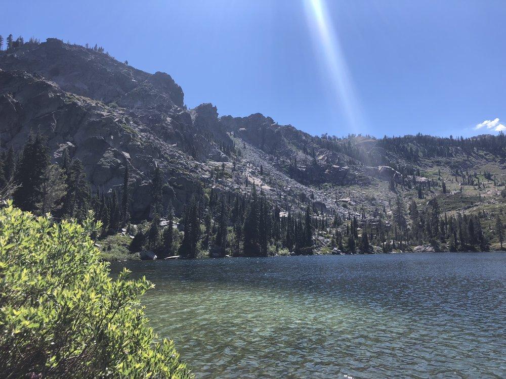 Swimming in Round Lake