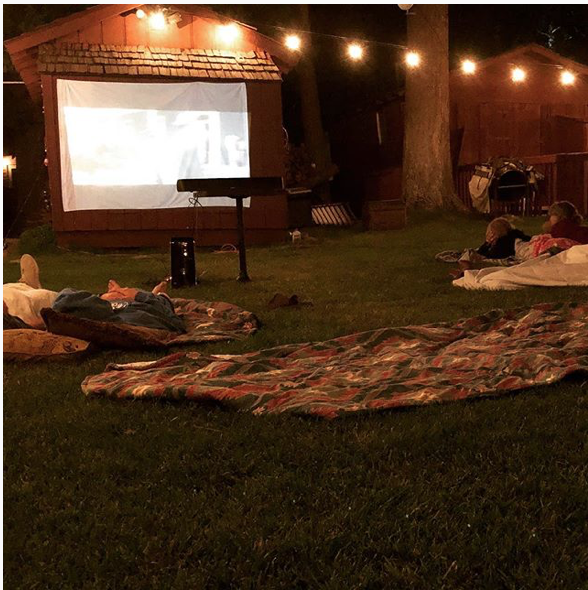 When was the last time your family enjoyed a movie together under the stars?