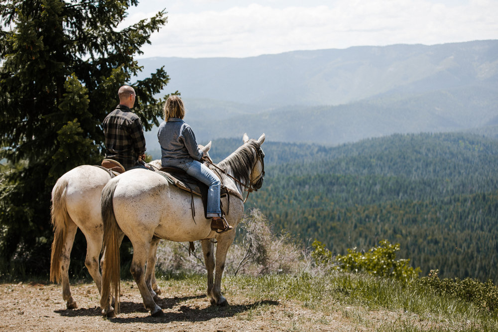 Create strong family bonds exploring the Lost Sierra surrounding Greenhorn Ranch