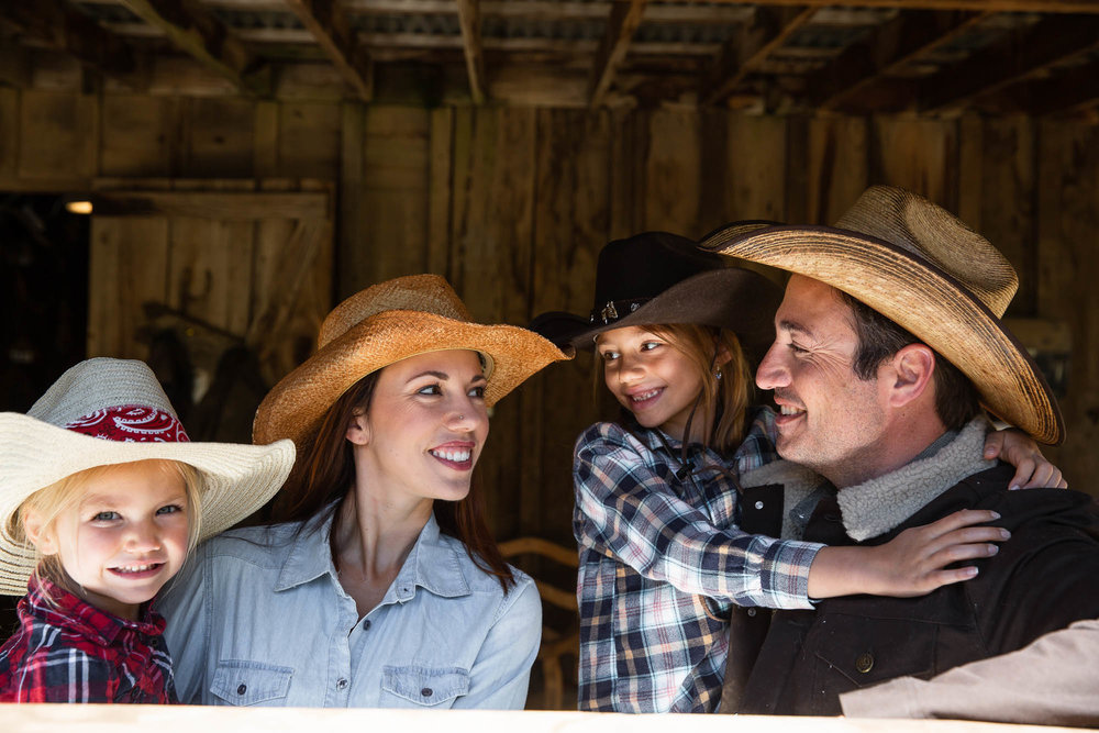 Less screen time means more family time at Greenhorn Ranch