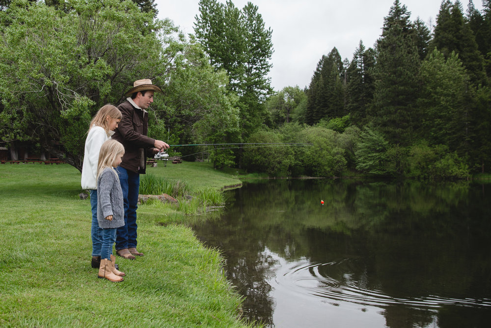Families have been bonding for years over great fish stories and Greenhorn Ranch wants these legends to continue for generations to come