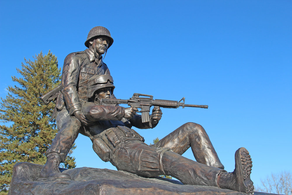 Veteran's Memorial by Scott Lennard