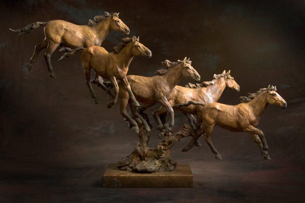 """""""Cayuse Prairie"""" by Jack Muir"""