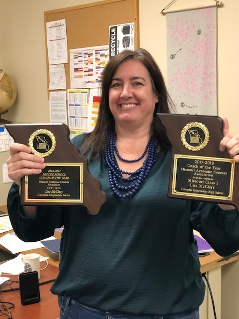 cis teacher clinches coach of the year award columbia independent