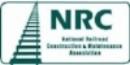 NATIONAL RAILROAD CONSTRUCTION & MAINTENANCE ASSOCIATION