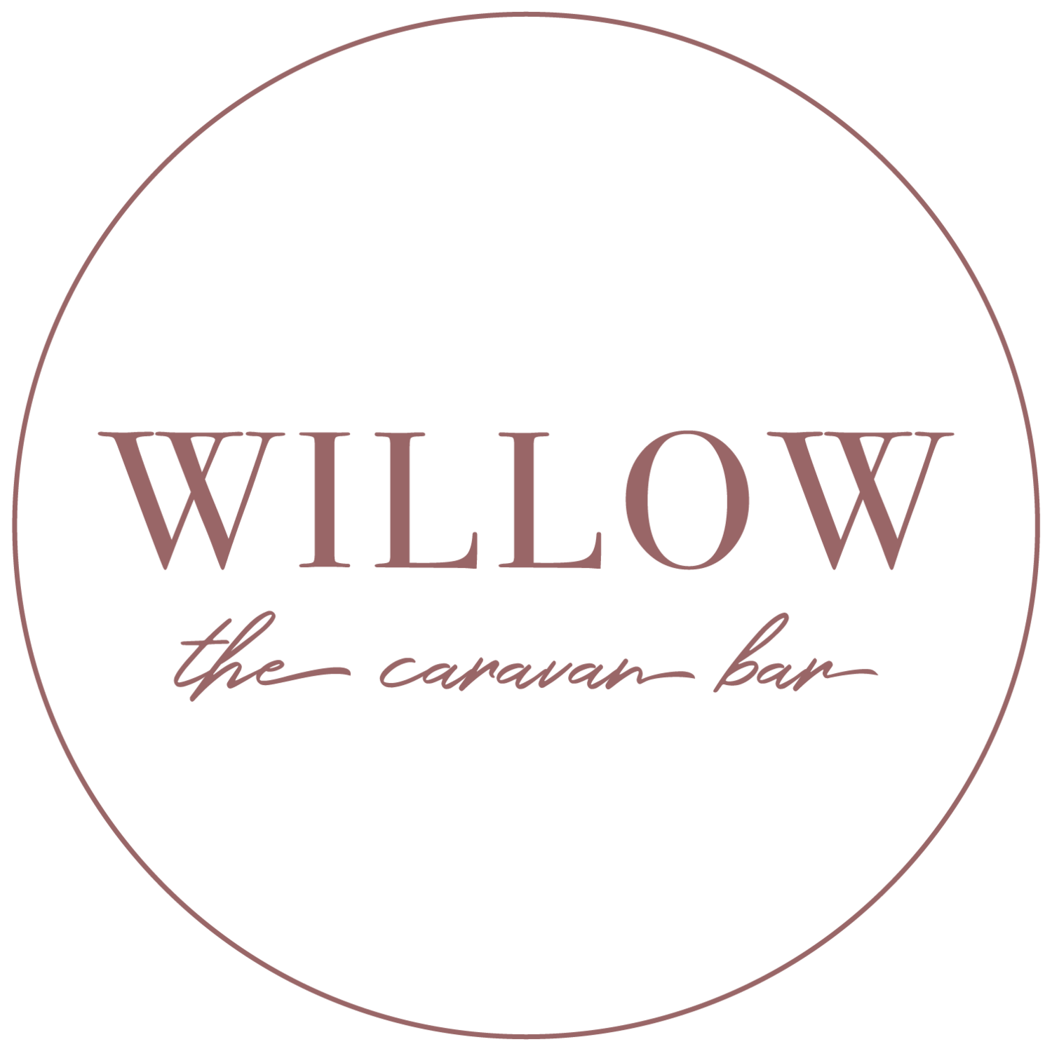 Willow the caravan bar