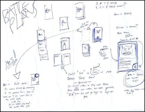 2011 Spell Saga Battle System notes