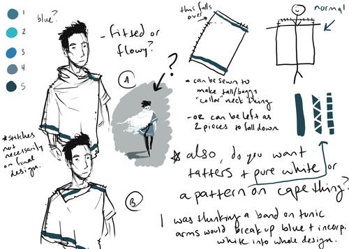 2012/2013 Lauren's designs for The last Minstrel's cape