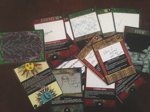 2014 Deck Two ~ The Forest ~ 4.0 with Todd's redesign scribbles