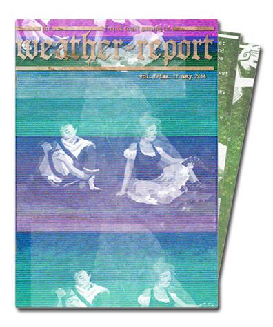 2014 Spell Saga newsletter cover