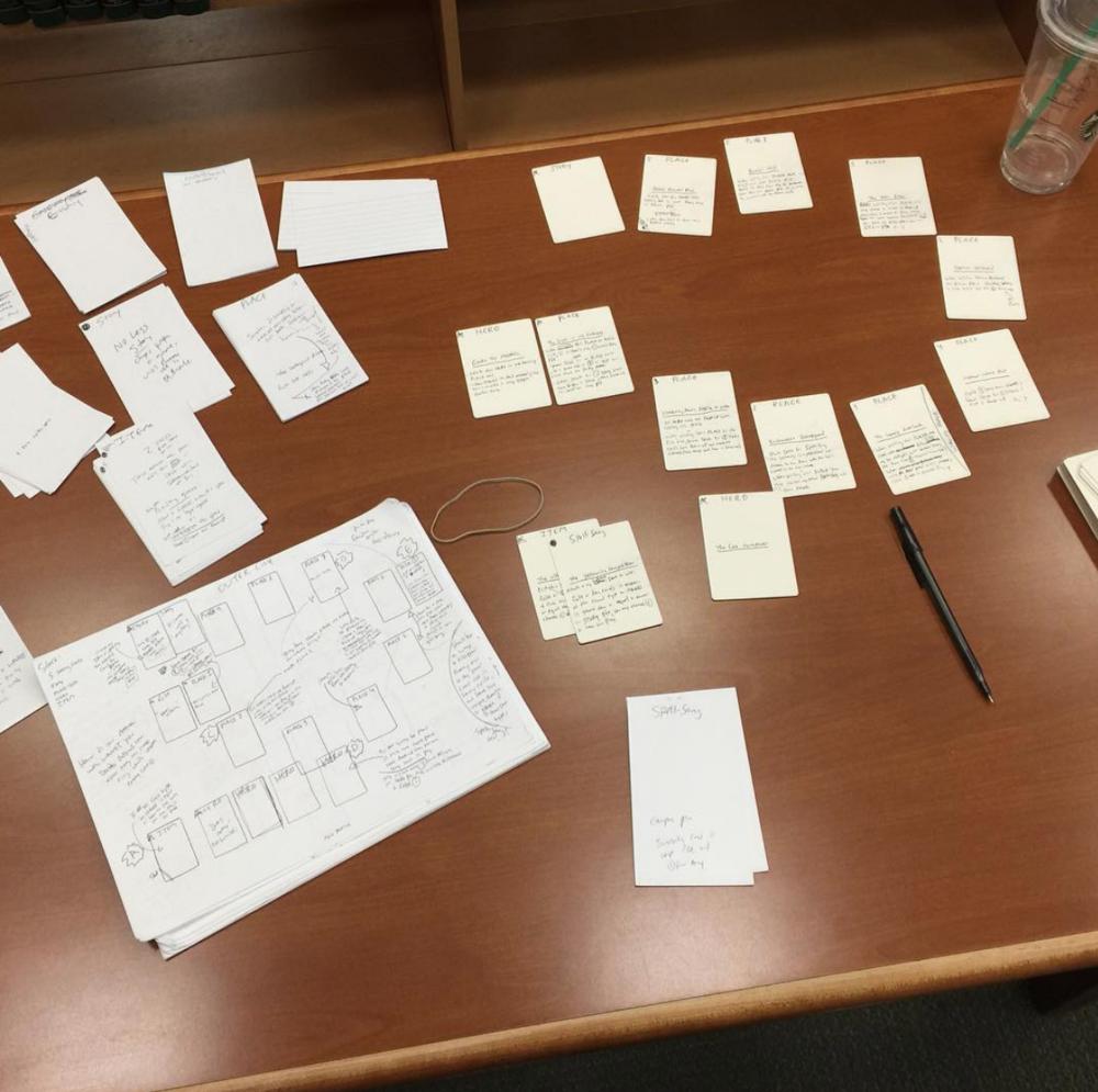 2016 rwTDS game design notes November 3rd