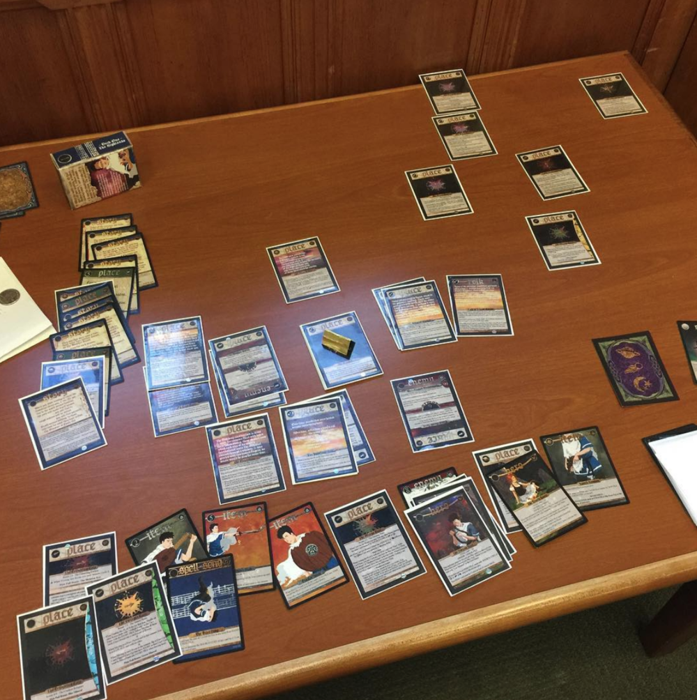 2017 first play-test of Deck 1.5 ~ The Under Sky in March