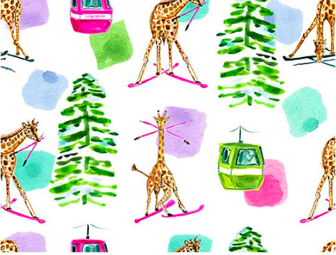 how adorable is this print?! the colors are so fun!