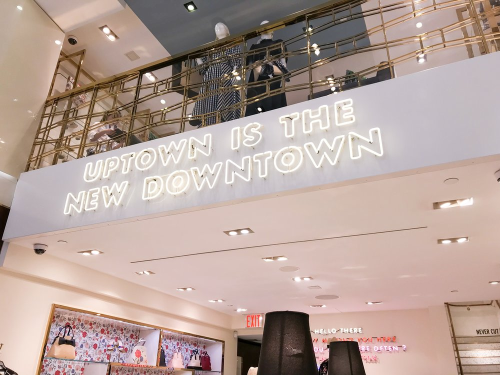this catchy and cute phrase is at the madison ave store!