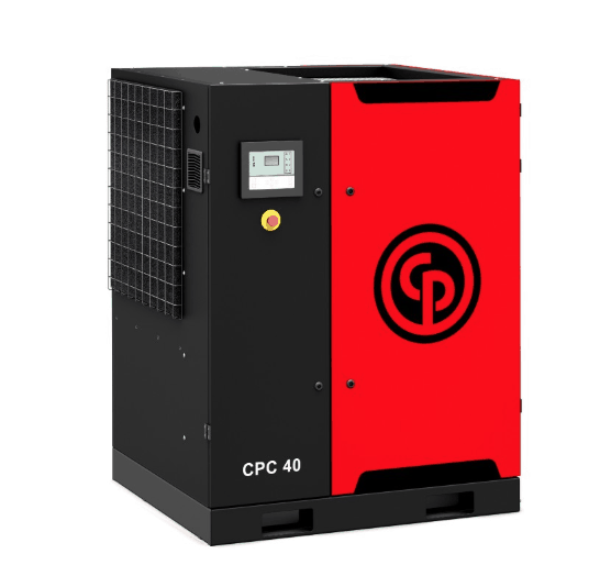 CPC/D 40-75  A 40-75 horsepower rotary screw compressor.