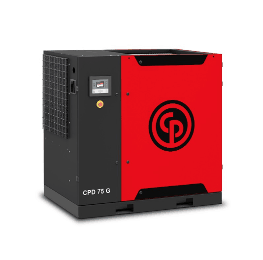 CPD 75-100 G  A 75-100 horsepower gear drive rotary screw compressor.