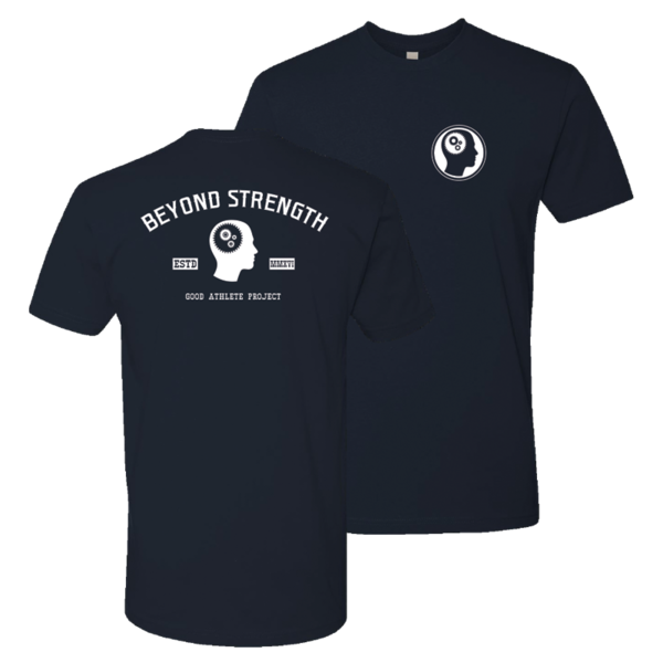 Beyond Strength - Navy Blue