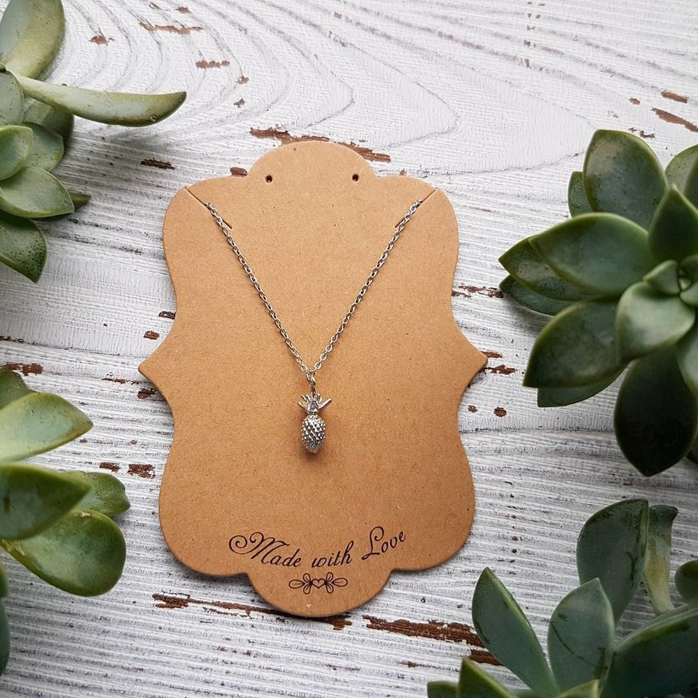 Pineapple Necklace by Under the Sun Jewelry, Featured in Locally Obsessed