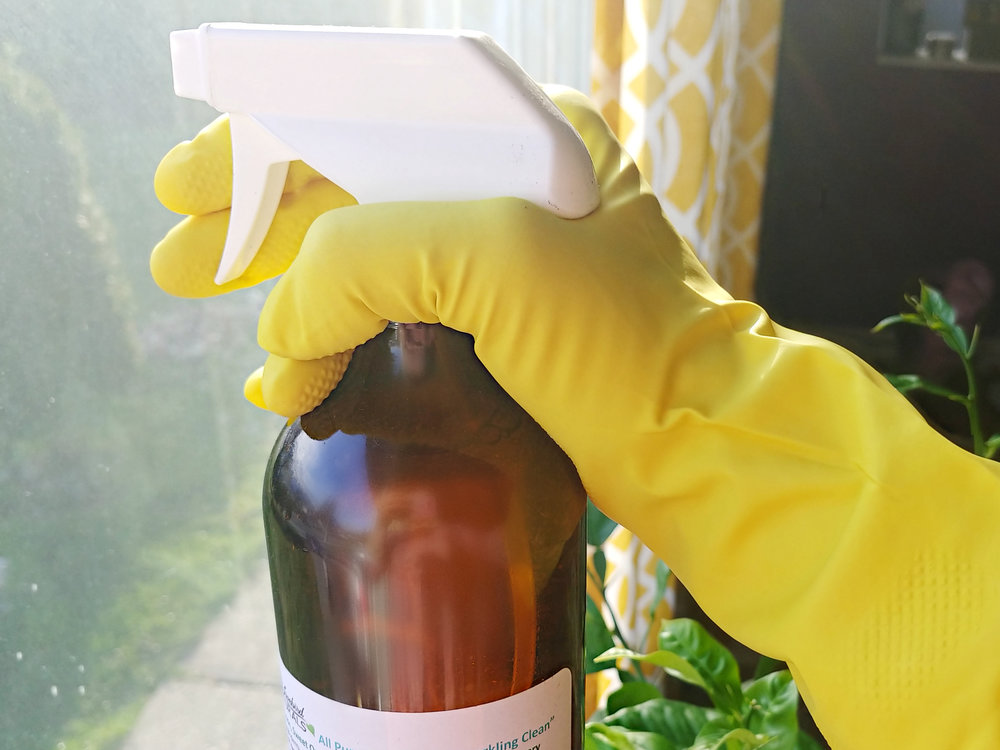 Clean Those Windows with Lovebird Naturals from Langley BC, feat in Locally Obsessed