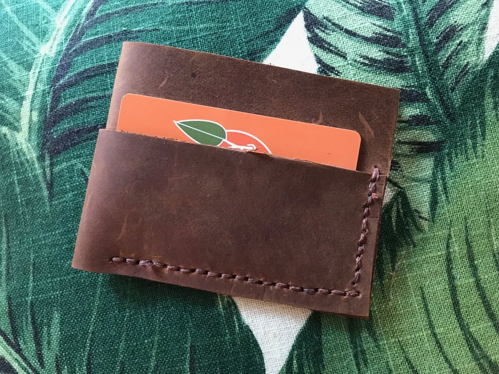 "Minimalist Wallet ""The Butch Cassidy"""