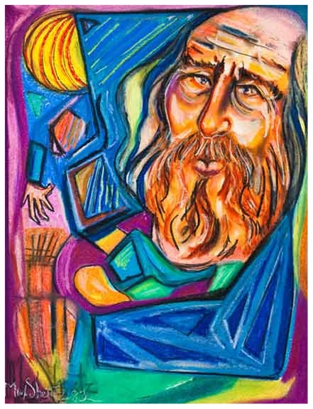 The Wizard 1985 26x20 Pastel