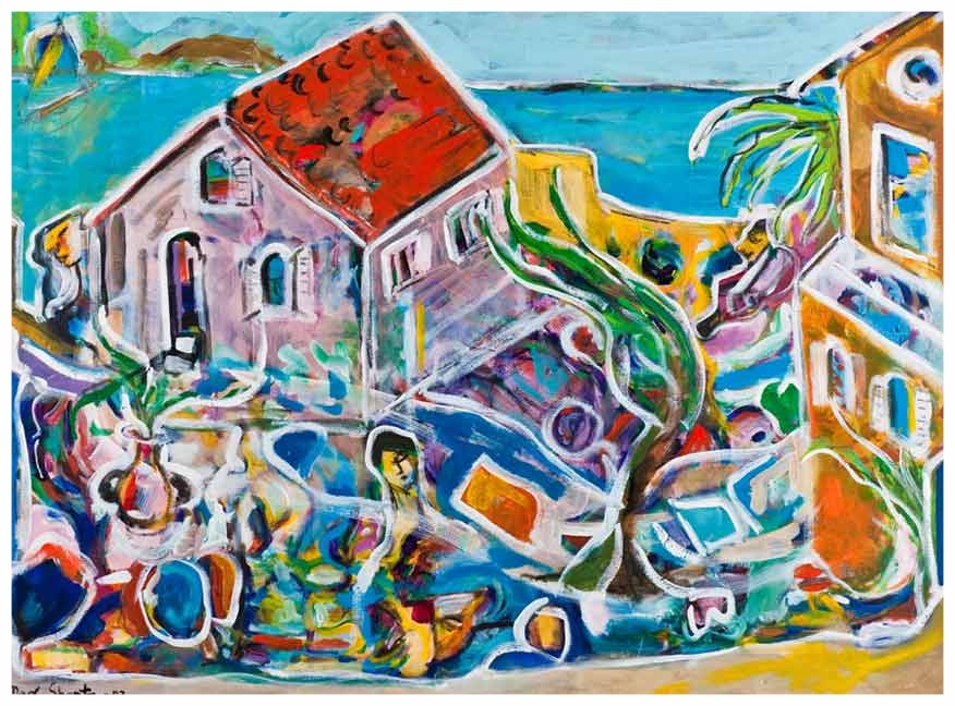 Provence 1983 36x48 Acrylic