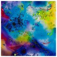 Celestial Spheres 1995 24x19 Mixed medium