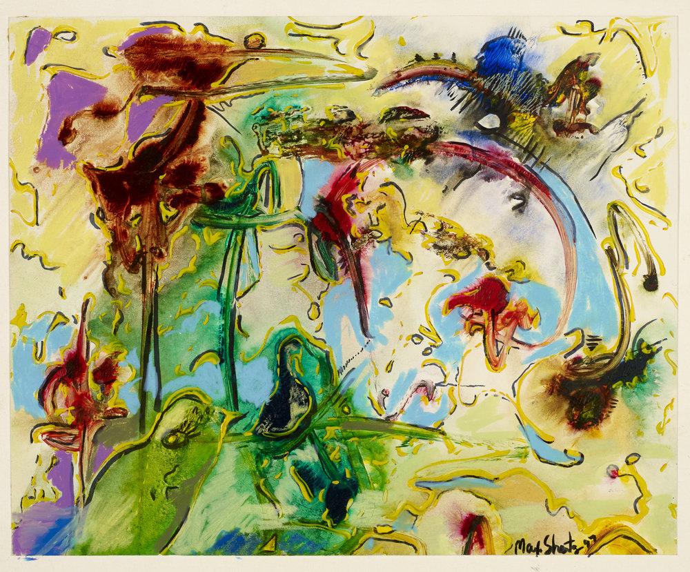 Rainbow 1997 10x12 Mixed Medium