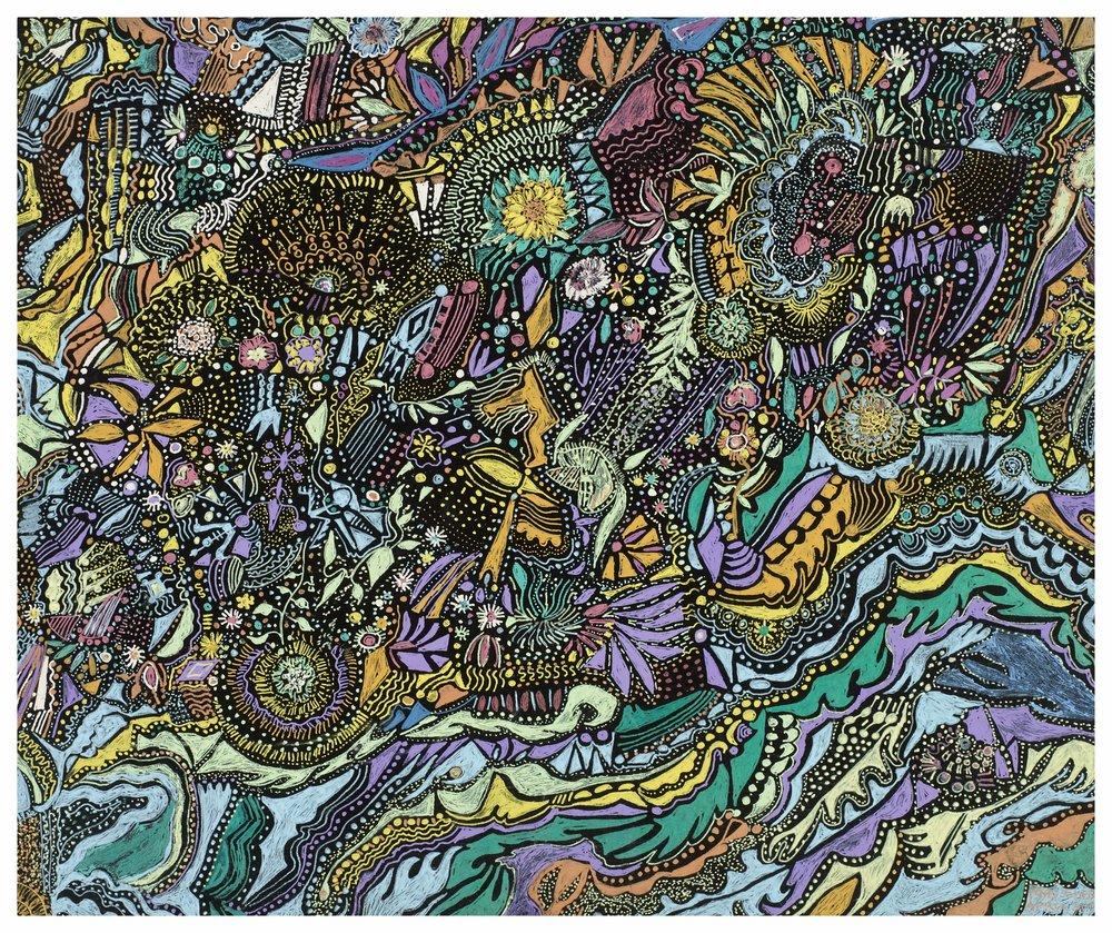 Floral Treasures 2000 10x12 Gel Pens