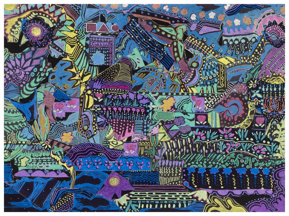 Riverboat 2000 9x12 Collage