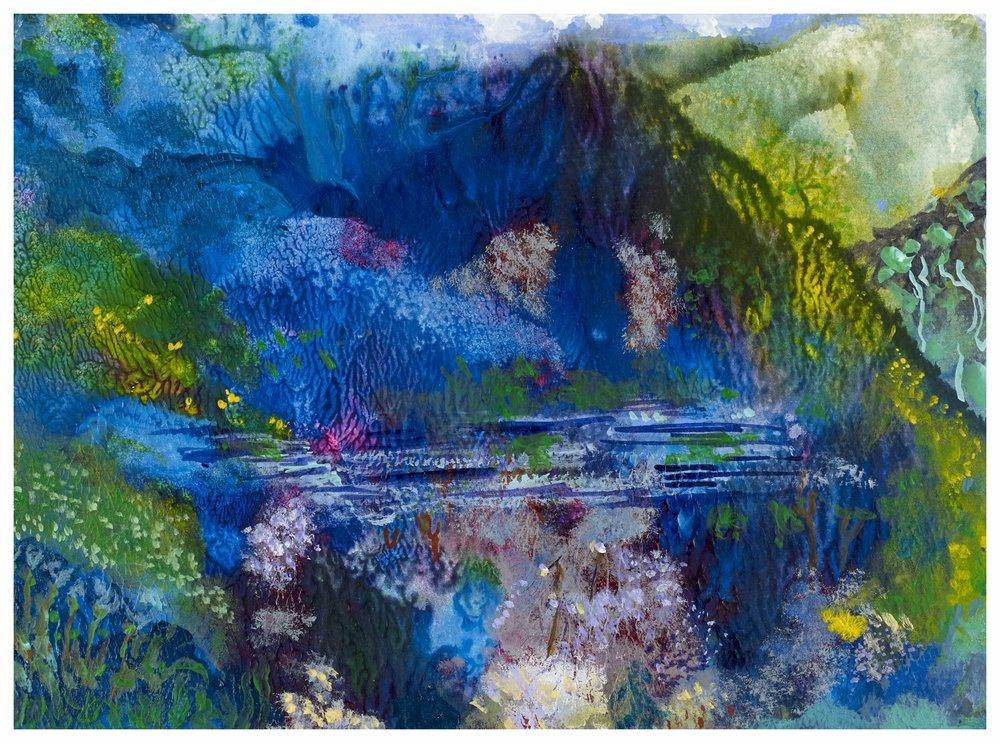 Solitude 2003 8x11 Mixed Medium