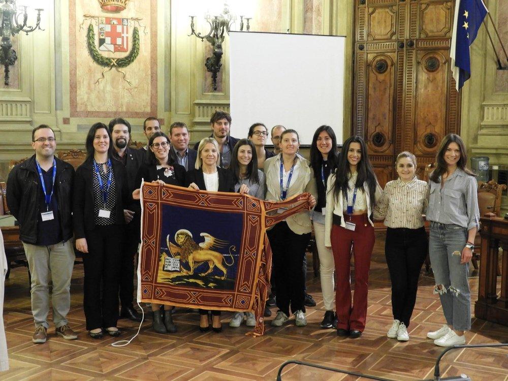 Gruppo Giovani con Assessore Lanzarin