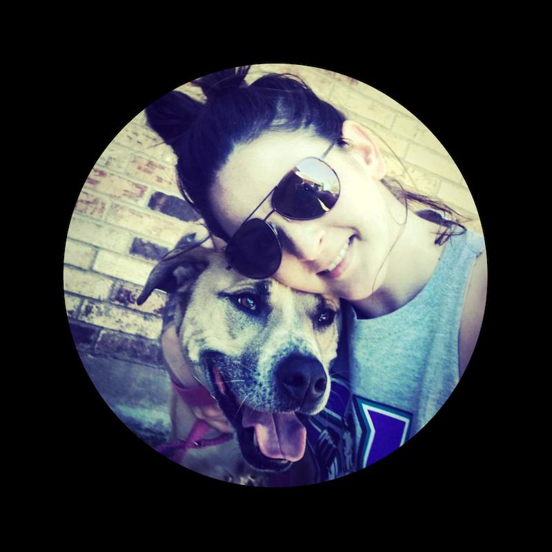 Phoenix dog trainer Nikki Norris and her beloved dog Linc.
