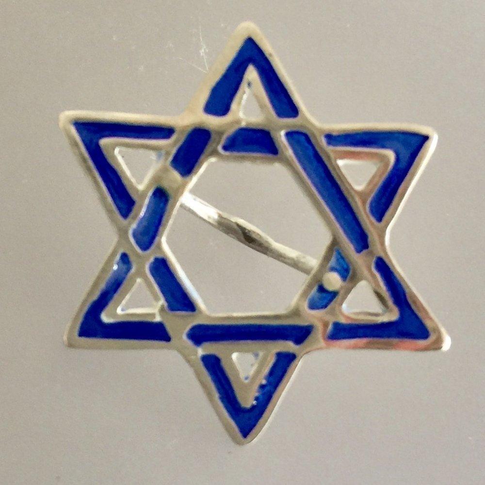 Star of David - Blue