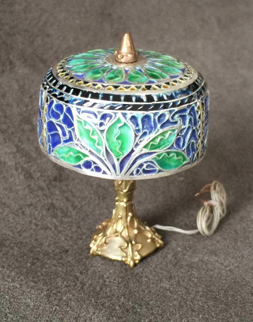 Jungle Leaves Lamp