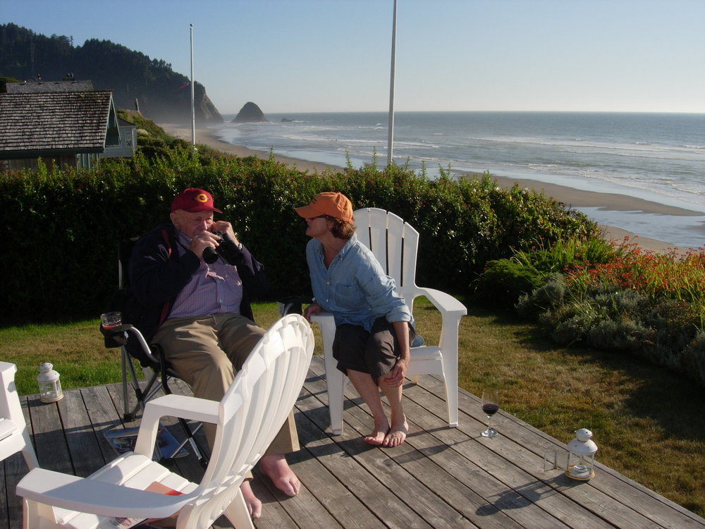 Leanne with dad on Coast.JPG