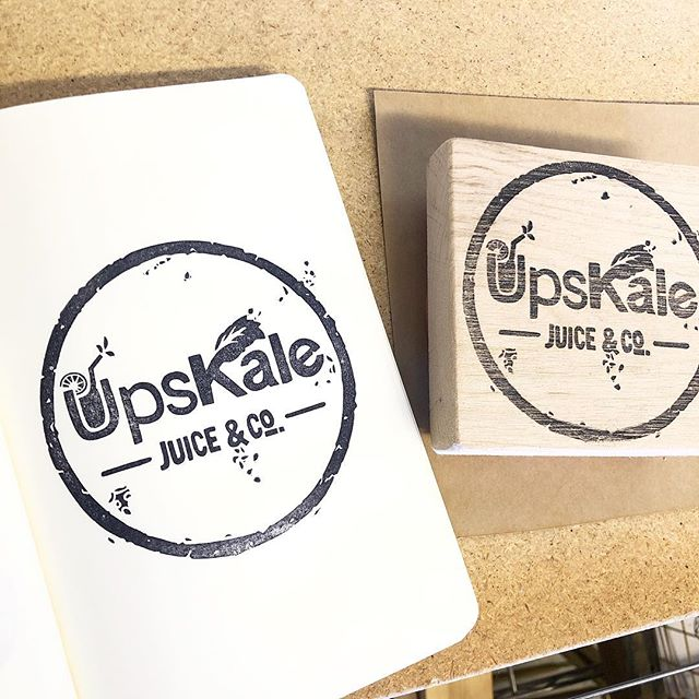 @upskalepr is hooked up with a #customstamp!