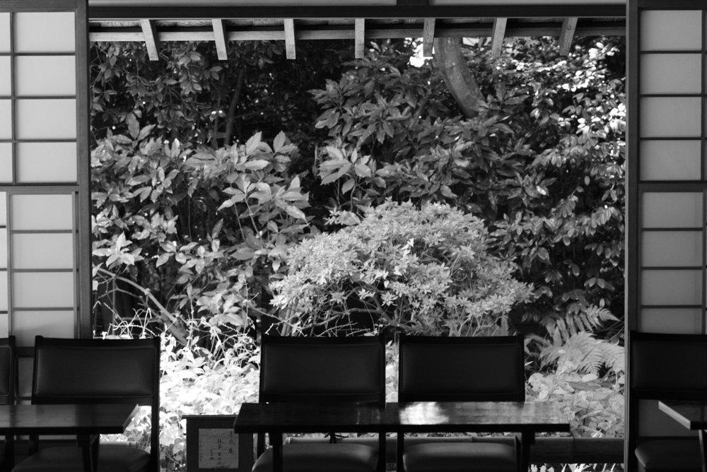 Japanes ochashitsu tea house