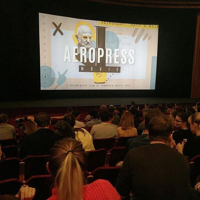 Finally its out! You did a great job, @europeancoffeetrip, congratulations  for this great @aeropressmovie, just keep working like this guys! 💪🍾🍾👍😍 #europeancoffeetrip #specialtycoffee