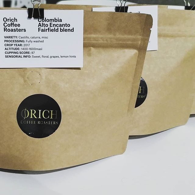 Home bag! 😍🤗 #coffeelovers #roastingcoffee #homecoffee #baristalife