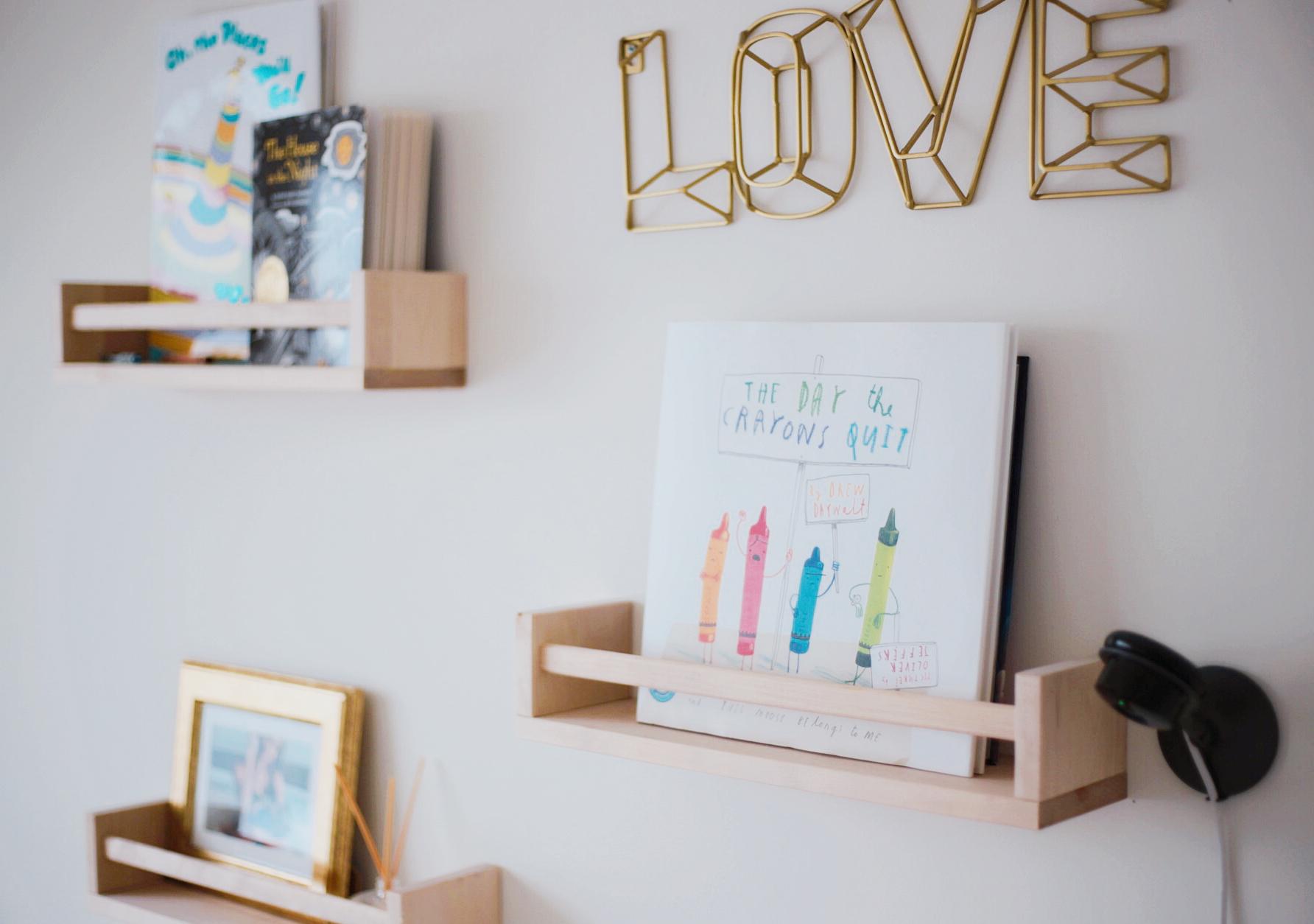 arya's room tour, the mom life nursery, toddler room ideas, grey neutral nursery, toddler nursery tour