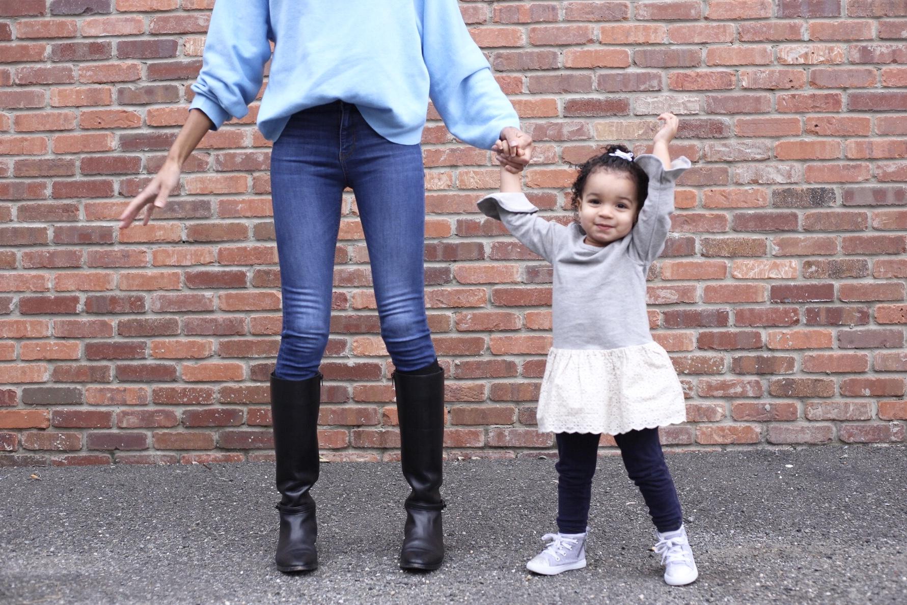 2 year old milestones, baby gap style, toddler milestones, baby outfits, baby update, mom life baby update, toddler update