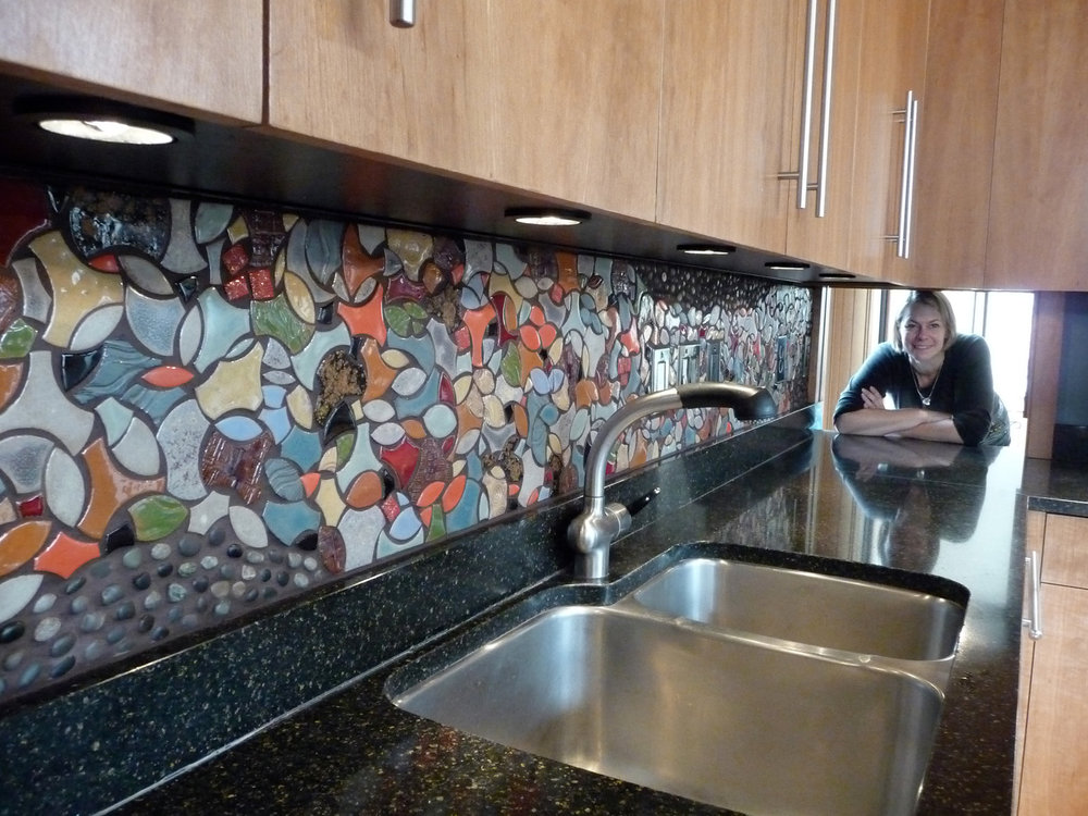 Goldberg Kitchen Backsplash