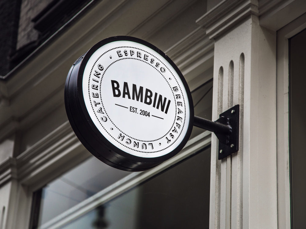 Branding for Bambini Cafes, Townsville