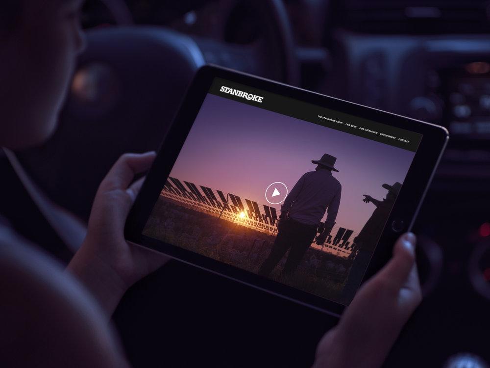 Website for Stanbroke, Global
